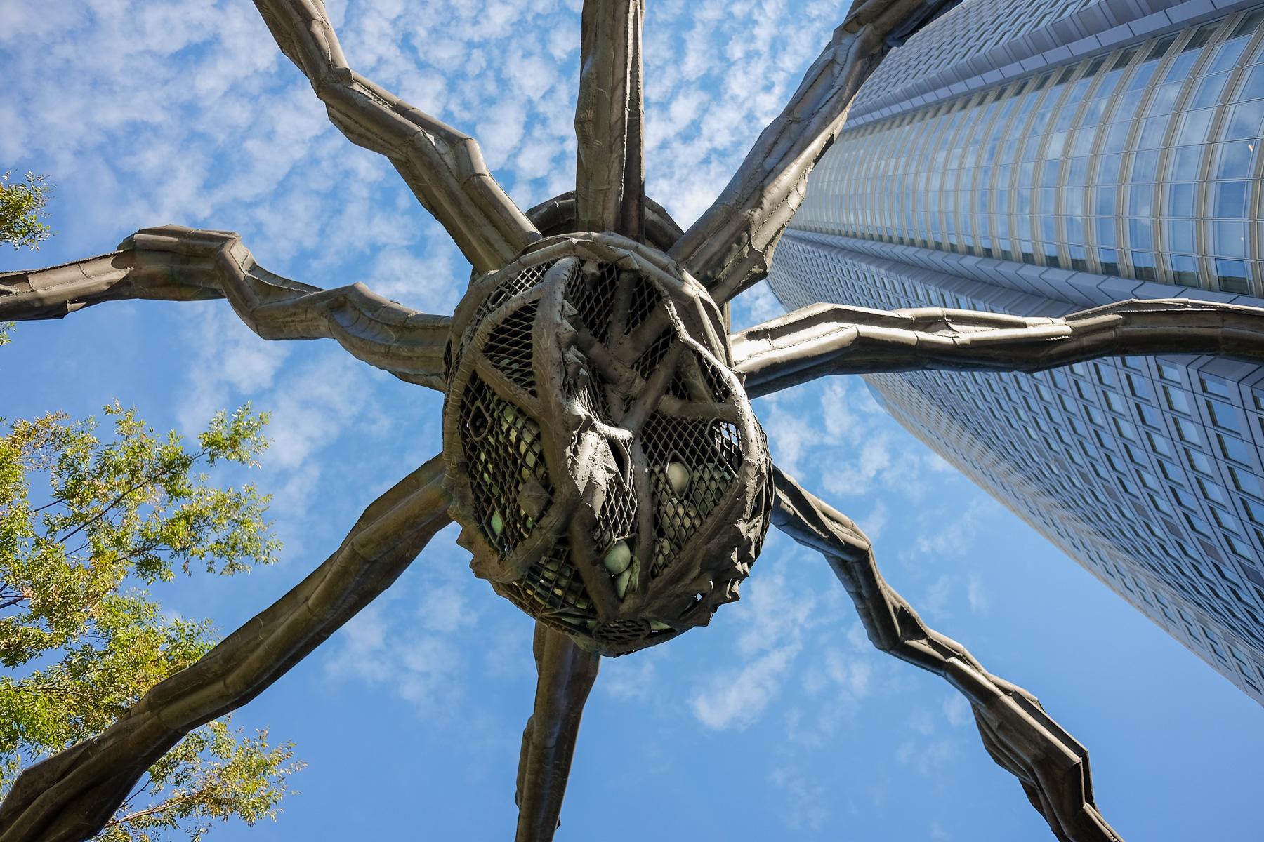 Die Spinne in den Roppongi Hills