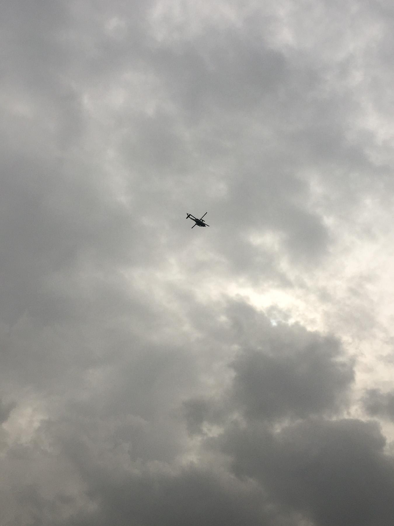 Kein ADAC Hubschrauber…