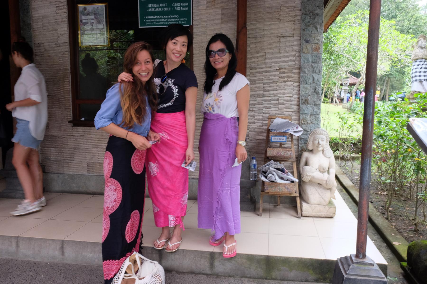 Ausflug zum Tempel